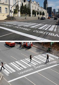 I wish all of our crosswalks were like this!