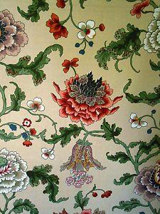 brunschwig fils la portugaise | Brunschwig & Fils Creation Chotard FRENCH HANDPRINT 'ATHOS& 39; Fabric ...