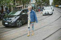 Milan Fashion Week 2015 S/S Street Style :Day 2 #annarusska