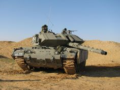 Magach 7 - Israeli modernisation of Patton tank