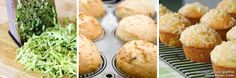Recipes for Style - Coconut Veggie Muffins