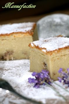 Magic Coconut Cake - Magischer Kuchen mit Kokos