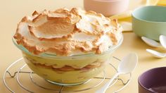 Get this all-star, easy-to-follow Baked Banana Pudding recipe from Alton Brown.