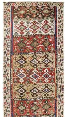 K0007966 New Turkish Kilim Runner Rugs Overdyed Vintage Hand Made