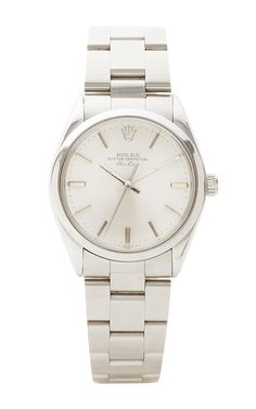 Vintage Rolex Airking In Stainless Steel Oyster by CMT Fine Watch and Jewelry Advisors for Preorder on Moda Operandi