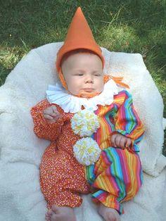 Etsy infant clown costume