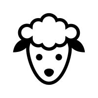 Vector Icons, Vector Free, Sheep Vector, Royalty Free Icons, Hello Kitty, Cricut, Projects, Crafts, Art