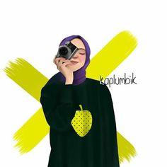 Girl Cartoon, Cartoon Art, Hijab Drawing, Girls With Cameras, Short Box Braids, Islamic Cartoon, Anime Muslim, Hijab Cartoon, Hand Photography