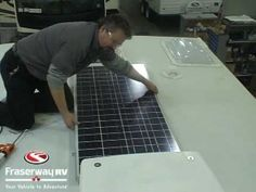 Step by step installation of a Go Power solar panel on a RV. http://www.fraserway.com/discover/knowledge-base/solar-power-basics