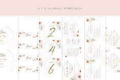 Pink Simple Whimsical Wedding Invitation Suite by LW Brand Styling Wedding Templates, Wedding Invitation Templates, Invitation Design, Baby Shower Invitations, Printable Invitations, Invites, Whimsical Wedding Invitations, Wedding Invitation Suite, On Your Wedding Day