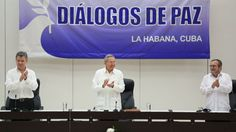 Colombia and Farc rebels sign historic ceasefire - BBC News