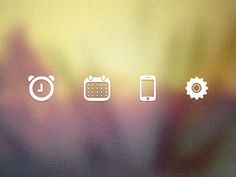 Four Icons by Kevin Kalde