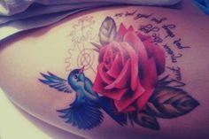 Bird and Rose