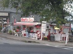 Wiscasset, ME: Red's Eats