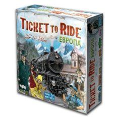 Плейстория - Ticket to Ride: Европа (3-е рус. издание)