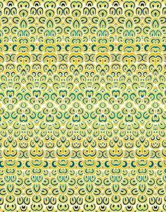 Pattern Illustrations - Pom Graphic Design #pattern #ethnic #mosaic #abstract #temple #illustration