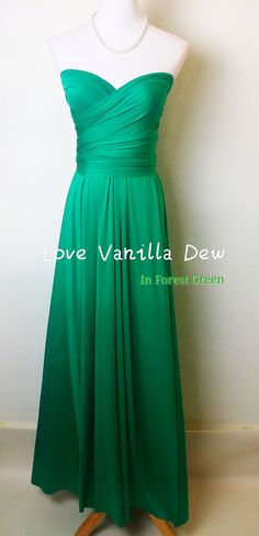 Chiffon halter gown, with Charmeuse waist with antique jewel ...
