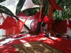 Isreal red tent so gorgeous!!