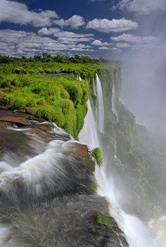 Cataratas de Iguazu - #Iguazu Falls #Brazil Argentina