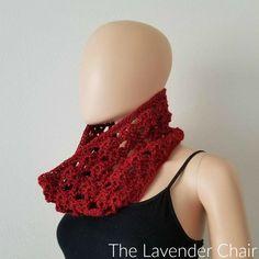 Climbing Shells Cowl Crochet Pattern - The Lavender Chair