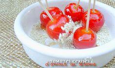 Tomates cerises d'amour au sésame
