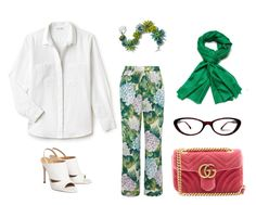 """""""Untitled #613"""" by seymayldz on Polyvore featuring Lacoste, Dolce&Gabbana, Gucci and Chanel"""