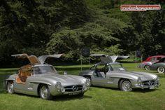 Mercedes-Benz 300 SL am Concours d'Elégance Suisse 2016: http://www.zwischengas.com/de/VC/veranstaltungsberichte/Concours-d-Elegance-Suisse-2016.html?utm_content=buffer69353&utm_medium=social&utm_source=pinterest.com&utm_campaign=buffer Foto © Bruno von Rotz