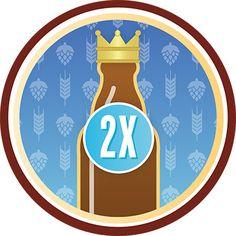 New Untappd Core Badge: 2X
