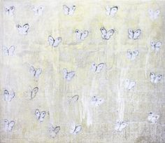 Hunt Slonem - White Ascension Butterflies (CHL1995) by Hunt Slonem | 1stdibs.com