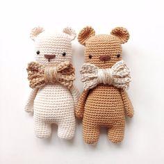 Häkelanleitung Golden Bear by Hannapopana on Etsy