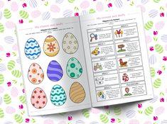 Bonjour à tous ! Je vous partage aujourd'hui une petite chasse au trésor de dernière minute à télécharger pour fêter Pâques. 9 œufs à cacher dans la maison ou dans l'appartement. 9 indices pour tenter de les Sarah Kay, Easter Activities, Printables, Blog, Kids, Stage, Spring, Leaves, Scavenger Hunt Clues