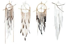 Maggie said she wanted a dreamcatcher for Christmas. I'm going to make her one like this.