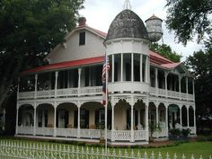 Gruene Mansion Inn - specifically the rustic lodging on the property. This is in historic Gruene, Texas (in New Braunfels, pronounced 'green')