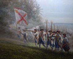 Spanish Foot Regiment in the Americas