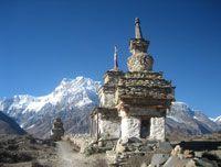 Chaitya at Nar Phu Valley Annapurna http://www.nepalmotherhousetreks.com/manslu-trekking-with-nar-phu-valley.html