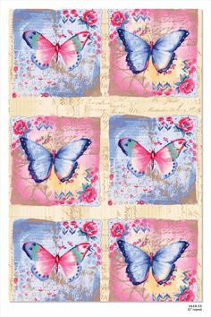 Butterfly card toppers