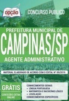 Apostila Concurso Prefeitura De Campinas 2019 Agente