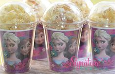 Disney Frozen Birthday Party CupsPopcorn BoxSet por PartyCupMedley
