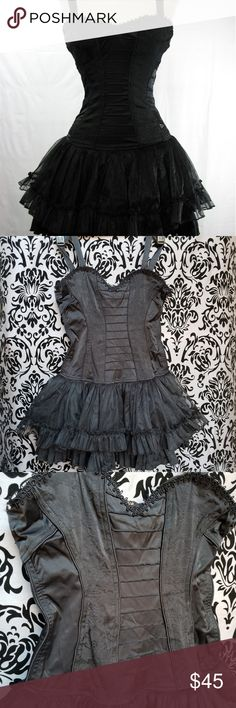 7468b3ca1f TRIPP NYC~Corset Gothic Punk Tutu Dress New New Without Tags TRIPP Corset  Goth