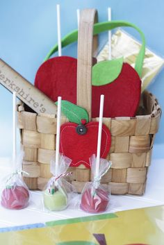 The Red Balloon: Apples- Teacher Appreciation Gift