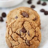 All type of cookies¡  Flourless Almond Butter Chocolate Chip Cookies, for example An awesome website ♥