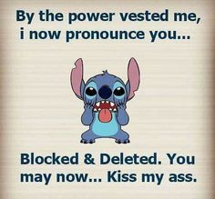 Hehe I wish I could do that to my family - Stich quotes - Disney Disney Jokes, Funny Disney Memes, Stupid Funny Memes, Funny Relatable Memes, Funny Texts, Funny True Quotes, Sarcastic Quotes, Cute Quotes, I Wish Quotes