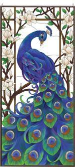 """Joan Baker """"Peacock"""" Art Panel"""