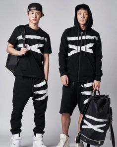 #BI and #BOBBY for NONA9ON 2016 S/S COLLECTION #DoubleB