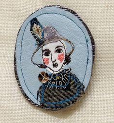 Frances in Velveteen Hat £24.00
