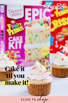 Food Clips, Cake Kit, Bakery Business, Starbucks Recipes, Dessert Recipes, Desserts, Yummy Cakes, Sweet Treats, Duncan Hines