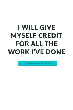 Baydian Girl Affirmations | I Will Give Myself Credit For All The Work I've Done | self care, positive affirmations, personal growth, lifestyle, Black girls, self love, quotes | #selfcare #positiveaffirmations #personalgrowth #lifestyle #quotes #lifestyle #BlackGirls Healing Affirmations, Positive Affirmations, Self Care Activities, Lifestyle Quotes, My Credit, Self Talk, Mindful Living, Girl Blog, Encouragement Quotes