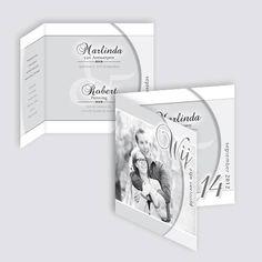 Verlovingskaart Marlinda en Robert, ontworpen door Ontwerp Studio Rottier
