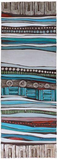 wall art made from ceramic - mosaic art - garden wall art - Tapestry #5