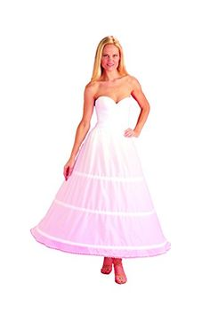 New3 Bone Cotton Hoop Skirt Bridal Petticoat Wedding Gown Slip 130DSC * Want additional info? Click on the image.